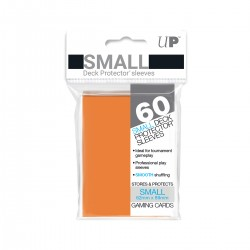 Ultra Pro Solid Sleeves SMALL Orange
