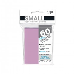 Ultra Pro Solid Sleeves SMALL Pink