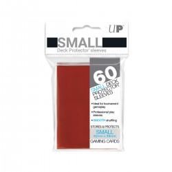 Ultra Pro Solid Sleeves SMALL Red