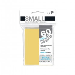 Ultra Pro Solid Sleeves SMALL Yellow