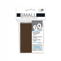 Ultra Pro Solid Sleeves SMALL Brown
