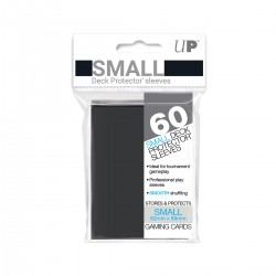 Ultra Pro Solid Sleeves SMALL Black