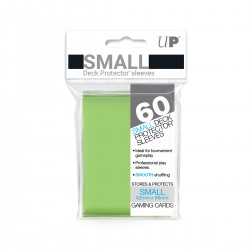 Ultra Pro Solid Sleeves SMALL Lime Green