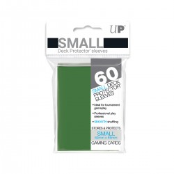 Ultra Pro Solid Sleeves SMALL Green