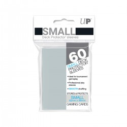 Ultra Pro Solid Sleeves SMALL Clear