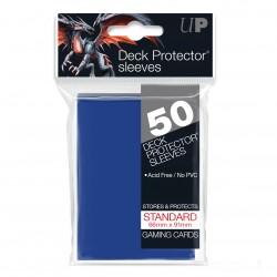 Ultra Pro Solid Sleeves Standard (50) Blue