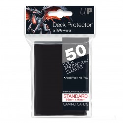 Ultra Pro Solid Sleeves Standard (50) Black