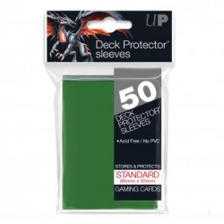 Ultra Pro Solid Sleeves Standard (50) Green