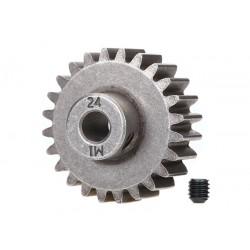 Gear, 24-T pinion (1.0 MP) (fits 5mm shaft)/ set screw