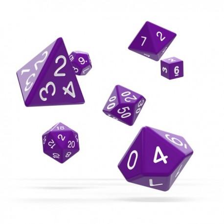 Oakie Doakie Dice RPG Set Solid - Purple