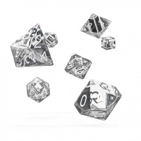 Oakie Doakie Dice RPG Set Translucent - Clear