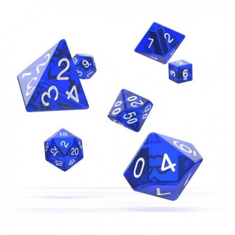 Oakie Doakie Dice RPG Set Translucent - Blue