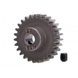 Gear, 27-T pinion 32-p steel