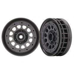 """Wheels, Method 105 1.9"""" (charcoal gray, beadlock)"""