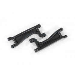 Suspension arms, upper, black (left or right, front or rear)