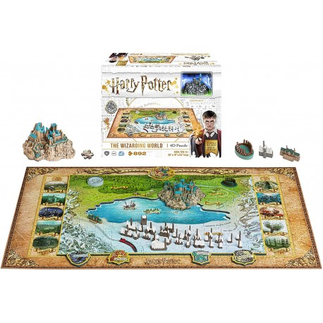 4D Cityscape - Harry Potter and Hogsmead Wizarding World