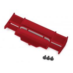 Wing, Rustler 4X4 (red)/ 3x8 FCS (3)