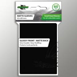 Blackfire Sleeves - Small Matte Black (60 Sleeves)