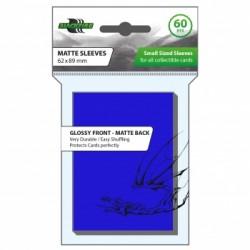 Blackfire Sleeves - Small Matte Blue (60 Sleeves)