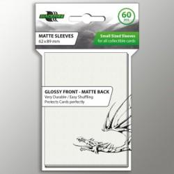 Blackfire Sleeves - Small Matte White (60 Sleeves)