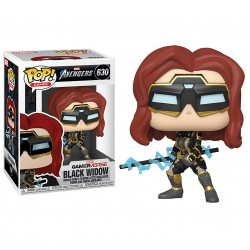 POP! Avengers Game - Black Widow (Stark Tech Suit)