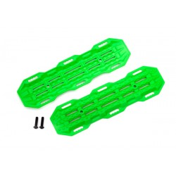 Traction boards, green