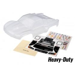 Body, Slash 4X4, heavy duty (clear)/window masks/decal sheet