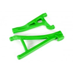 Suspension arms, green, front (right), heavy duty (2)