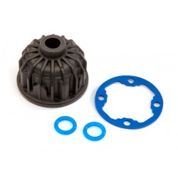 Carrier, differential/x-ring gasket/o-ring (2)/10x19.5x0.5TW