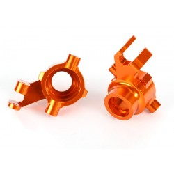 Steering blocks, 6061-T6 aluminum (orange-anodized)