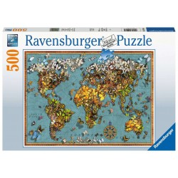 Ravensburger Puzzle - World of Butterflies- 500pc