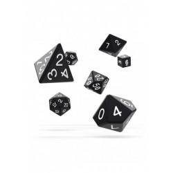 Oakie Doakie Dice RPG Set Solid - Black