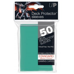 Ultra Pro Solid Sleeves Standard (50) Aqua