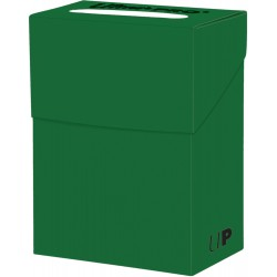 Ultra Pro Solid Deck Box - Lime Green