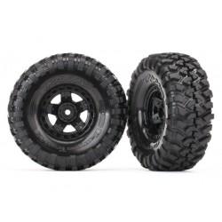 Tires and wheels (TRX-4 wheels, Canyon Trail 1.9 4.6x1.9