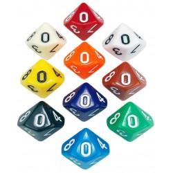 Opaque - Dados sortidos D10