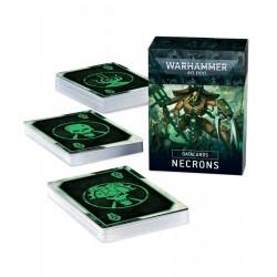49-03 DATACARDS: NECRONS (ENGLISH)