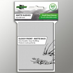 Blackfire Sleeves - Small Matte Clear (60 Sleeves)