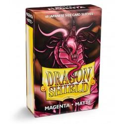 Dragon Shield Matte Small Sleeves - Magenta (60 Sleeves)