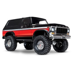 TRX4 1979 Ford Bronco 4WD Crawler RED