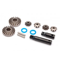 Output gear, center differential, hardened steel (2)