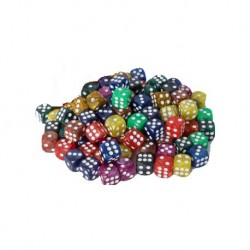 Assorted D6 Dice 16 mm