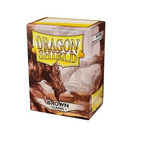 Dragon Shield Classic Sleeves Brown (100)