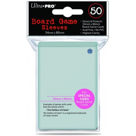 Ultra Pro Board Game Sleeves 54mm x 80mm (50)