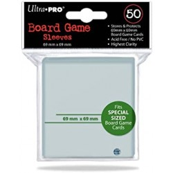 Ultra Pro Board Game Sleeves 69mm x 69mm (50)
