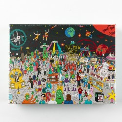 Puzzle Wheres Bowie: 500 piece jigsaw - 500pc