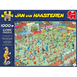 Jan Van Haasteren - Womens Soccer (1000 pc)