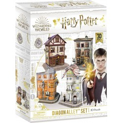 Harry Potter - Diagon Alley Set 3D Puzzle