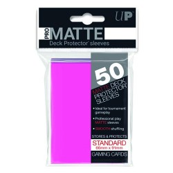 Ultra Pro Solid Sleeves Standard (50) Bright Pink