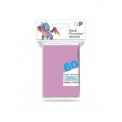 Ultra Pro Solid Sleeves SMALL Bright Pink
